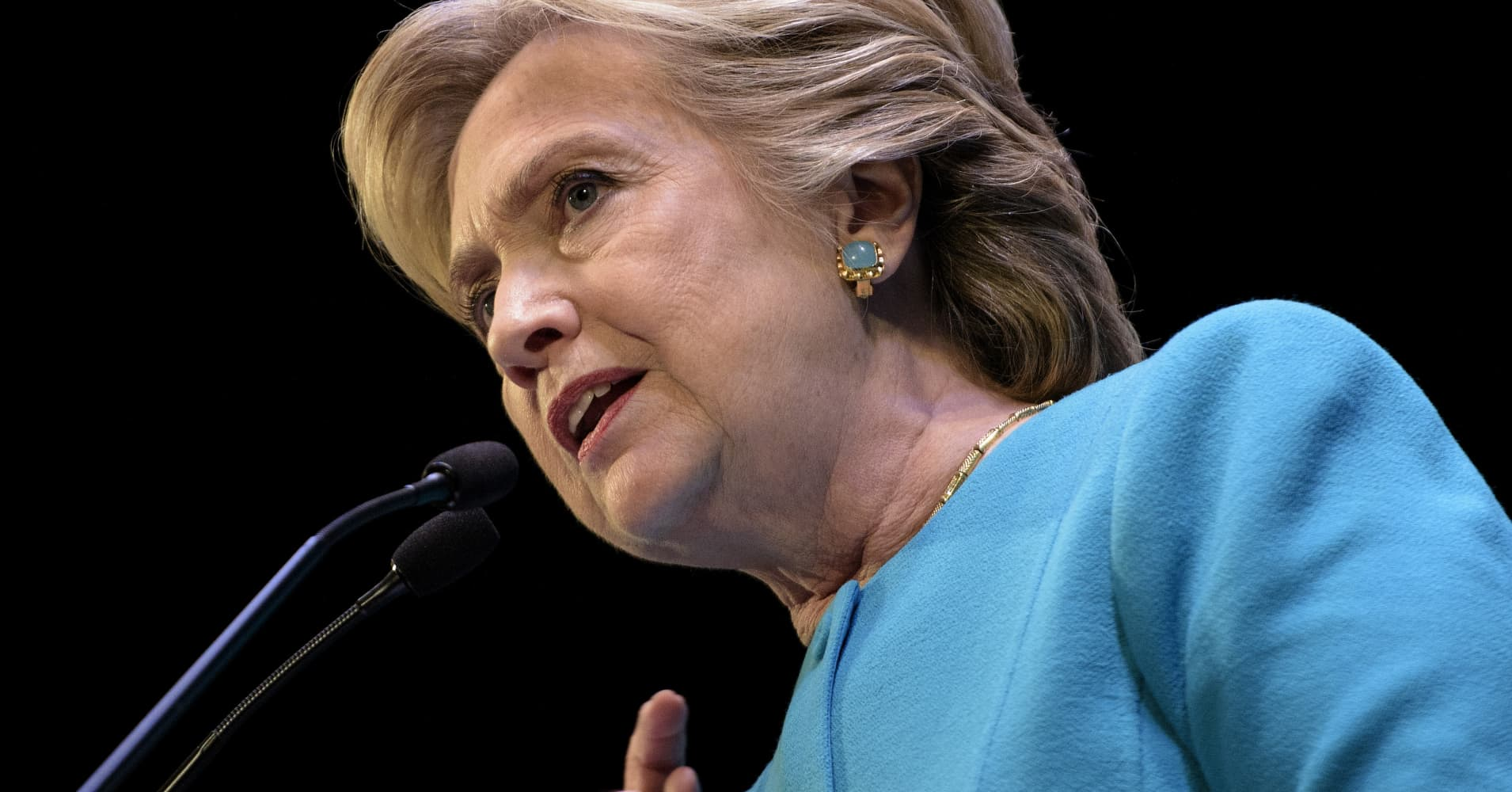 f85a923973c779 Hillary Clinton told Deutsche Bank executives in 2014 that they needed to  address the public s perception that financiers had