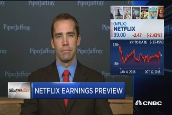 Expectations are low for Netflix earnings: Olson
