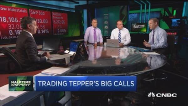 Trading Tepper's big calls