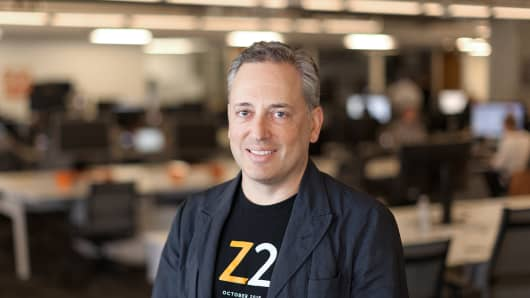 David Sacks, CEO of Zenefits.