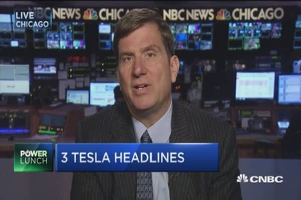 Analyst: Can see short-term upside with Tesla