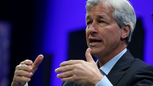 JPMorgan Chase and Co. chairman and CEO Jamie Dimon