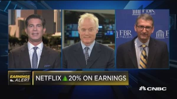 Landis on NFLX: Quality company on a powerful trend