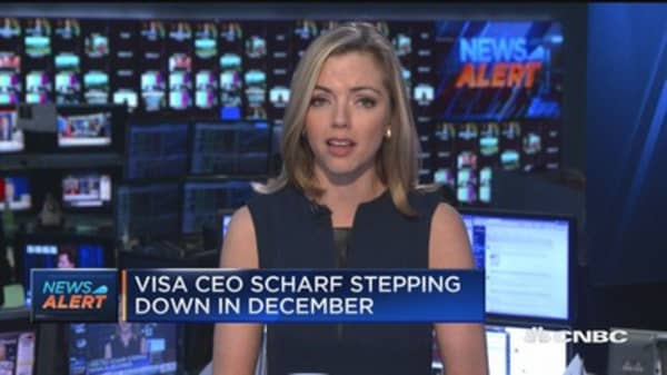 Visa names Alfred Kelly as new CEO