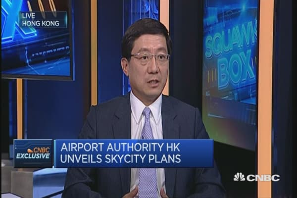 HKIA is making a push for retail