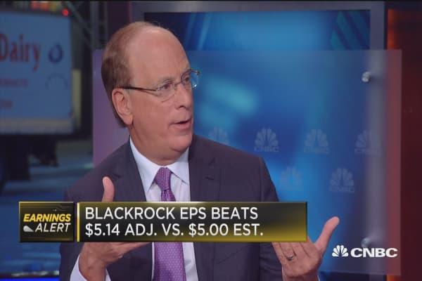 BlackRock's Fink: Active investing is not dead
