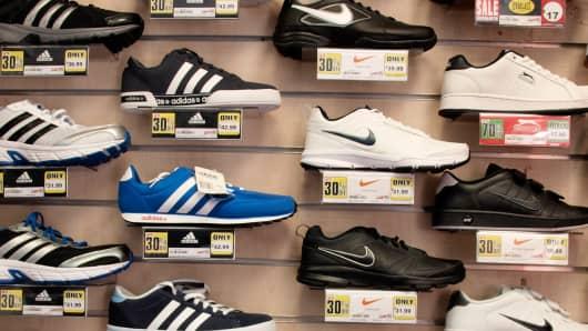 shoes nike adidas
