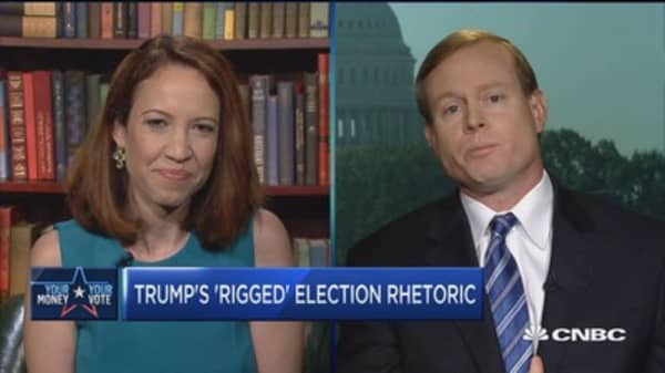 Musser: Trump shouldn't focus on 'rigged election' message