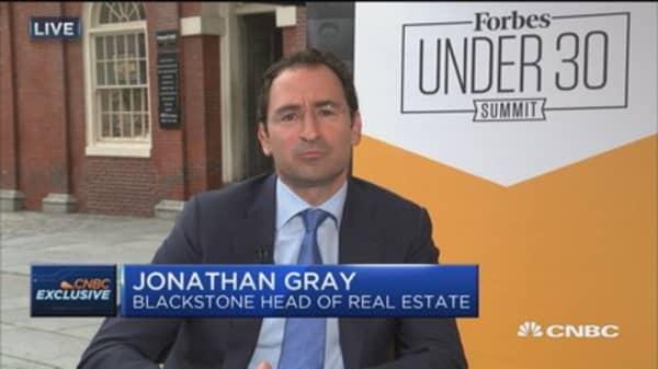 Blackstone Real Estate's Gray: Housing market a bright spot in the US