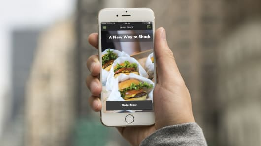 Shake Shack introduces new ordering app.
