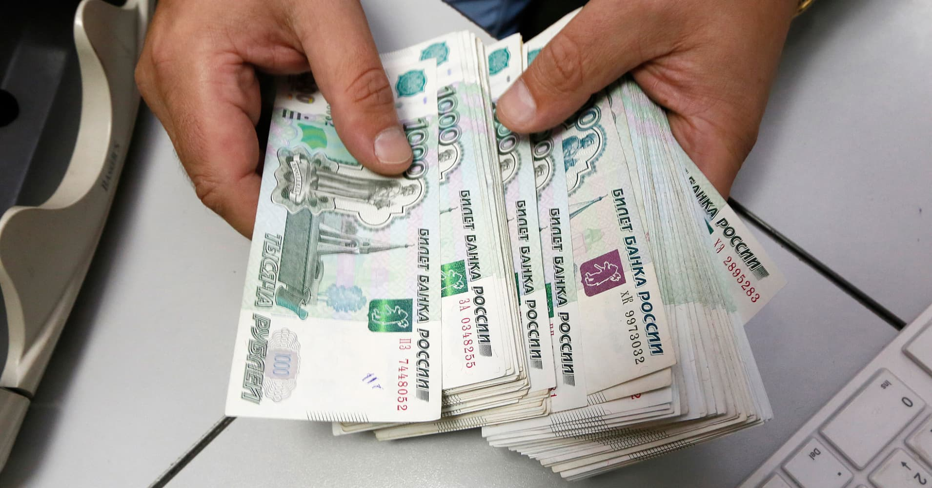 Russia Sanctions Could Trigger The Next Off For Ruble Currency Expert Says