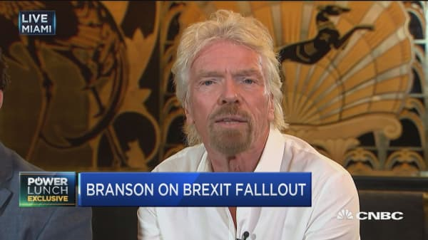 Branson on Brexit: People have shot themselves in the foot