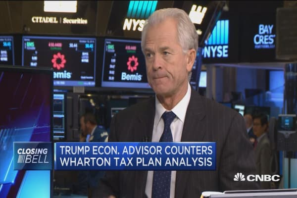 Trump econ. advisor counters Wharton tax plan analysis