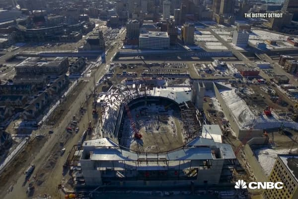 Revitalizing Detroit through Pro sports