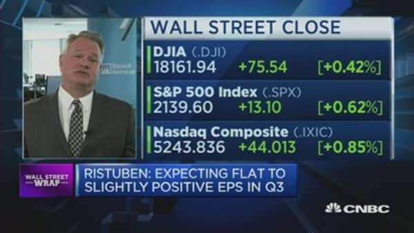Is the negative US earnings streak over?