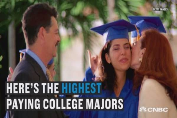 The highest paying college majors