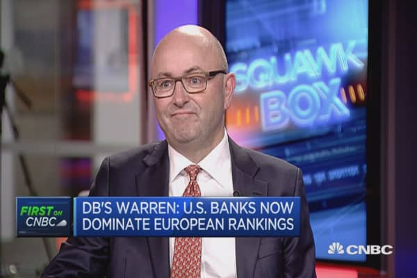 Hope DOJ issue will be behind us shortly: DB's Warren