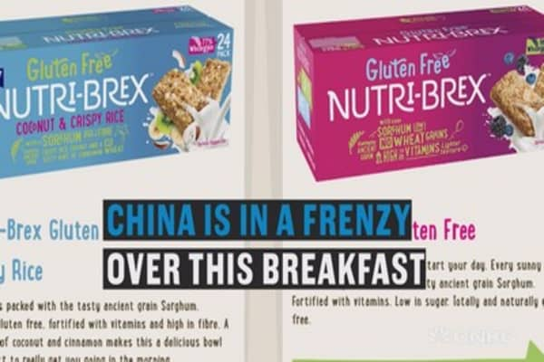 China is on a frenzy for this breakfast cereal