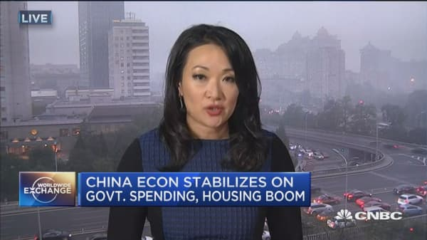 China GDP grows 6.7% in Q3