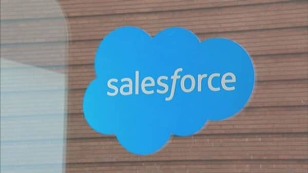 Salesforce shopping list includes Adobe, but not Twitter