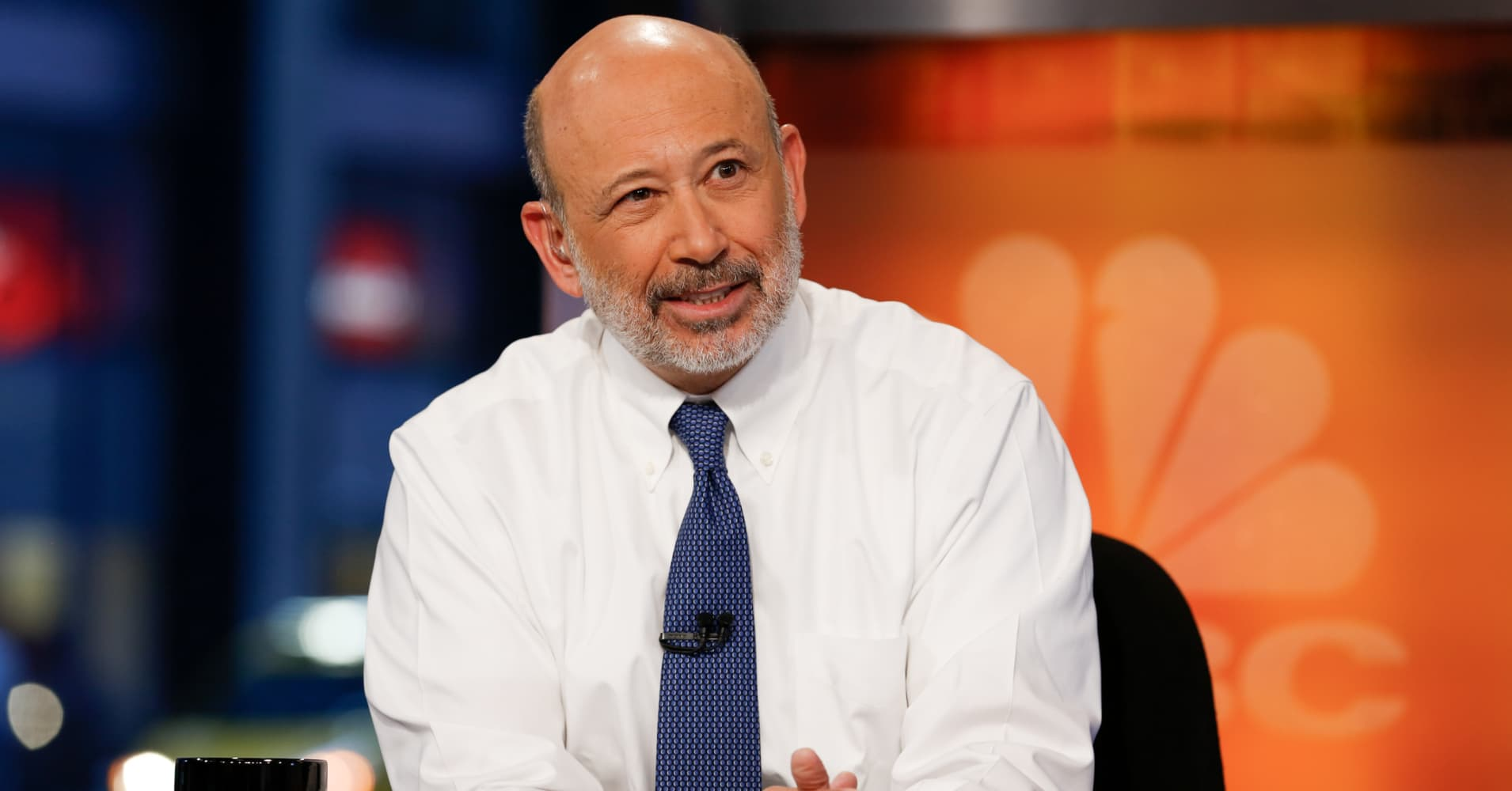 Lloyd Blankfein, Chairman and CEO of Goldman Sachs.