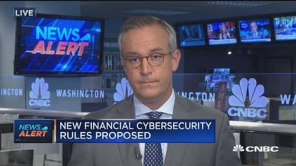 New financial cybersecurity rules proposed
