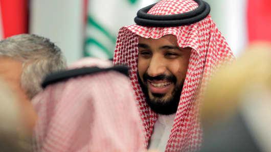 Saudi Arabia's Mohammed bin Salman.