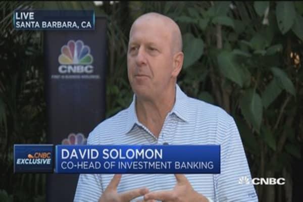 Goldman's Solomon on M&A