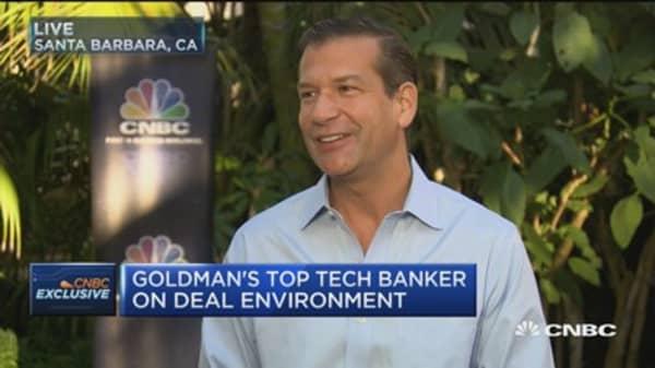 Goldman's top tech banker on Artificial intelligence
