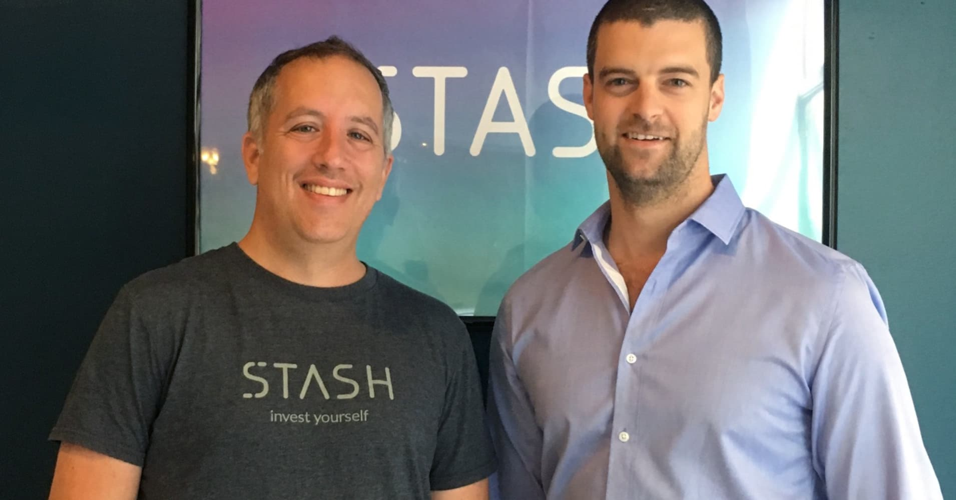 Stash co-founders, Brandon Krieg and Ed Robinson.