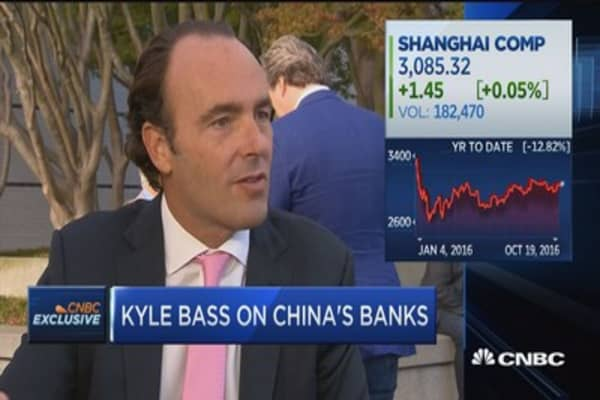 Kyle Bass: China must recapitalize their banking system