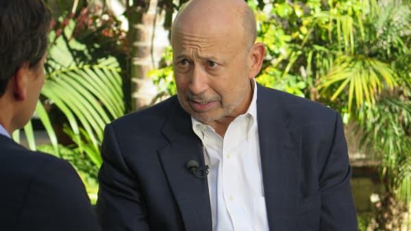 Lloyd Blankfein CEO of Goldman Sachs