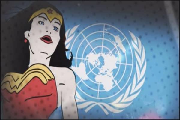 Wonder Woman to become a U.N. Honorary Ambassador