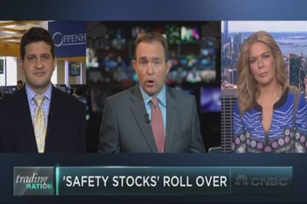 'Safety stocks' roll over