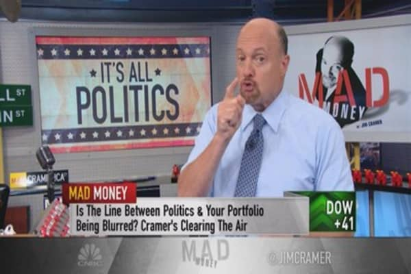 Cramer: Worried about your money under a Democratic landslide? You should be