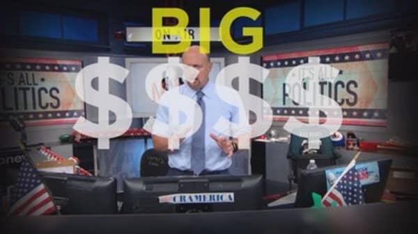 Cramer Remix: Signs that big money is preparing for Democratic domination