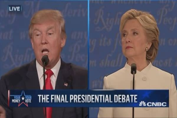 Trump: Clinton will give you four more years of Obama