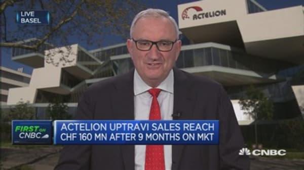 Actelion CEO: US is very reasonable democracy