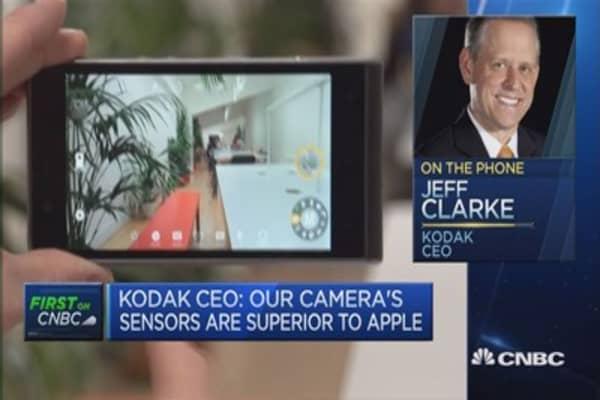 Camera, software differentiates our smartphone: Kodak CEO