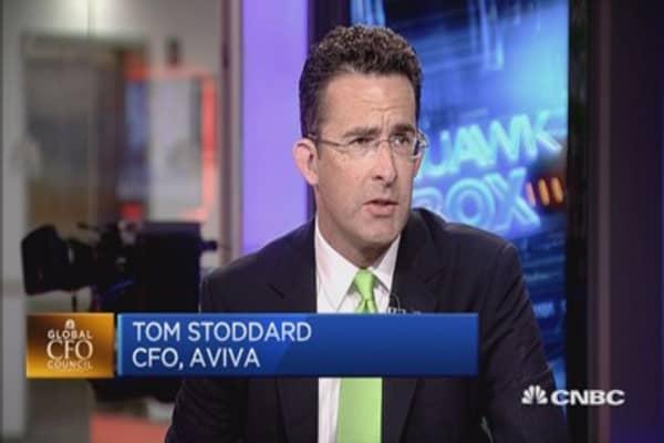 Interest rates don't bother us: Aviva CFO