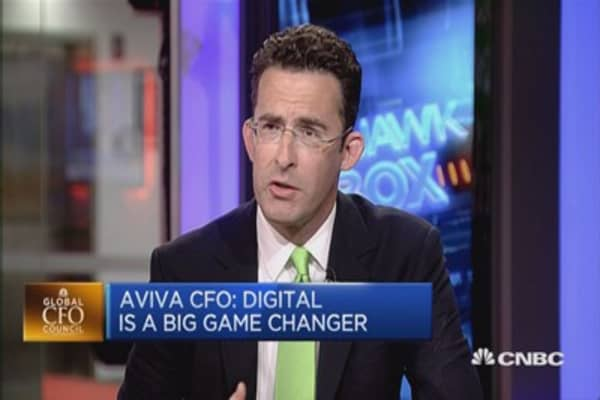 Digital's changing the game: Aviva CFO