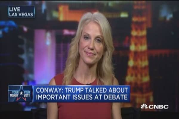 Clinton has doubled down on taxes: Kellyanne Conway