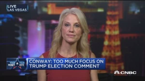Polls missing undercover Trump voters: Kellyanne Conway