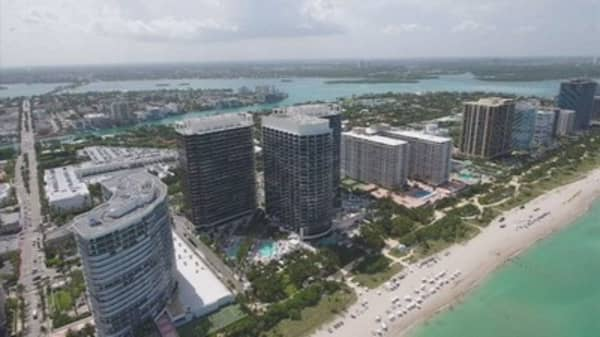 Miami luxury housing market cools down