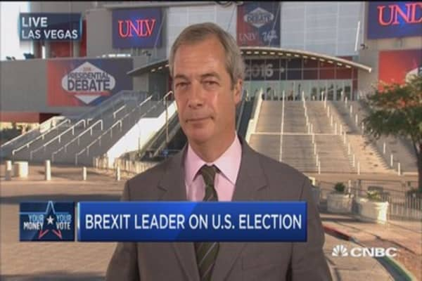 Farage: Trump needs to move on after election