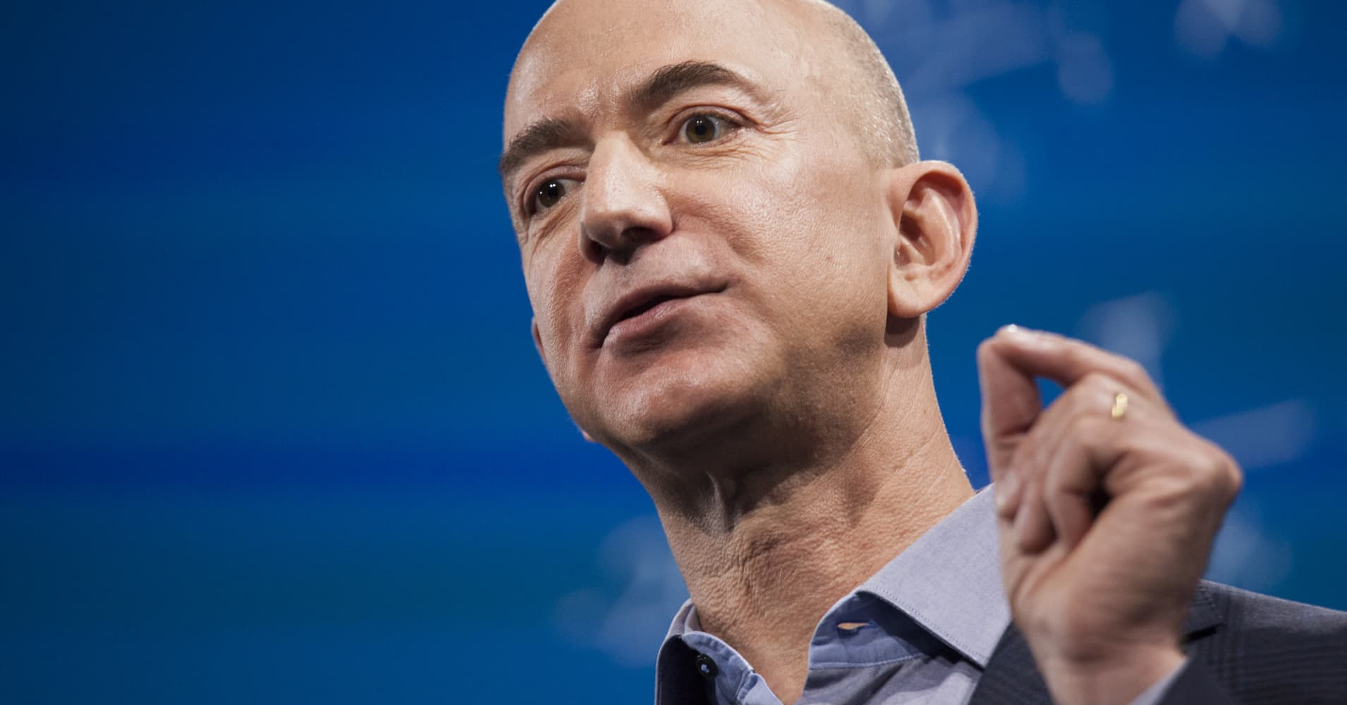 Amazon.com founder and CEO Jeff Bezos
