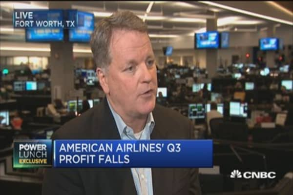 American Airlines CEO: We've primarily invested in our team