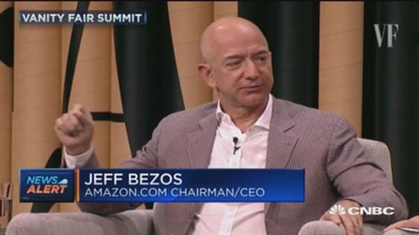 Bezos: Trump comments erode our democracy