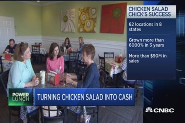 Turning chicken salad into cash