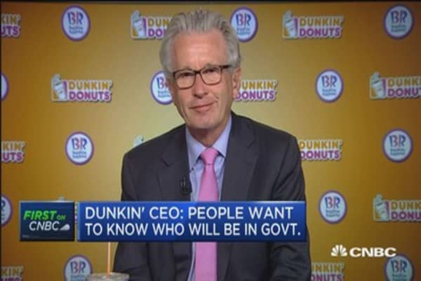 Dunkin' Brands CEO: We're a strong 'number 2'